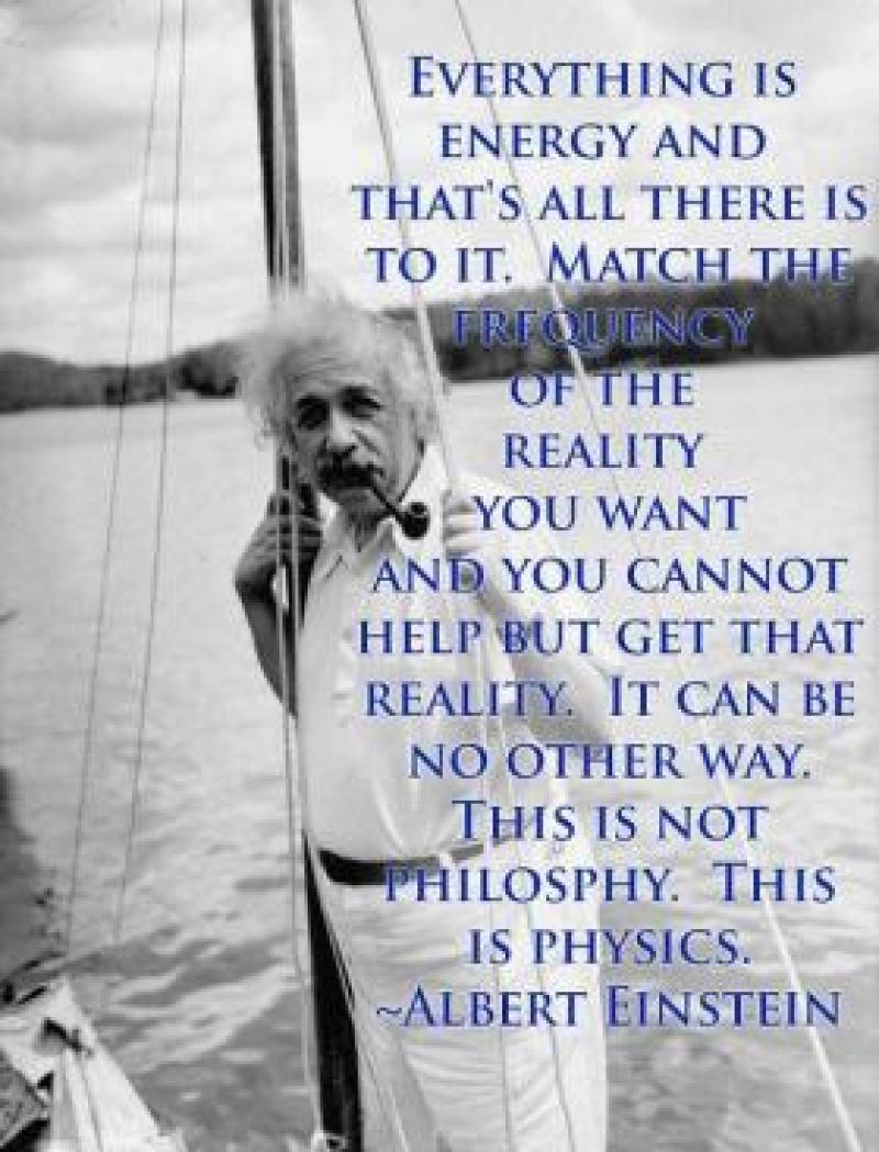 Einstein Frequency The Law Of Success Gavin Sharples